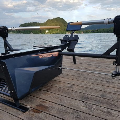rowing machine Biorower S1club (realistic indoor rowing ergometer)