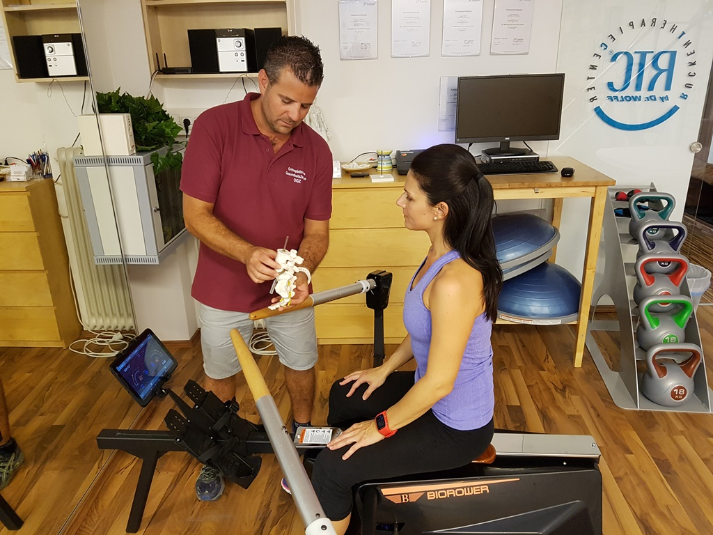 rowing machine Biorower - the most suitable rowing machine for rehabilitation