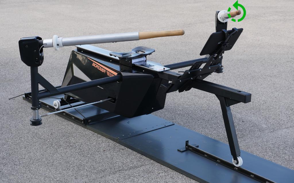 Biorower S1club rotating oar handles