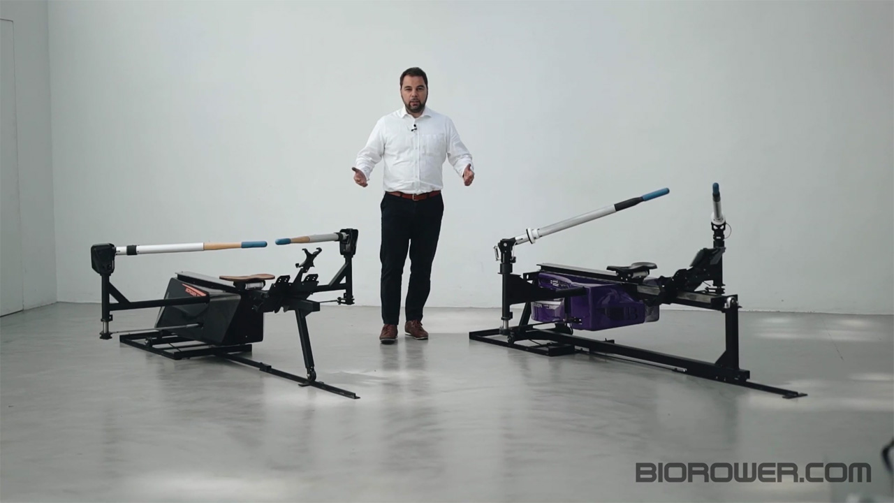 compare the world's best rowing machines - the Biorower S1club and the Biorower S1pro